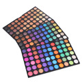 Profesional 180 colores de maquillaje nude paleta de sombra de ojos paleta de colores de sombra de ojos shimmer mate mujeres maquillaje belleza maquiagem