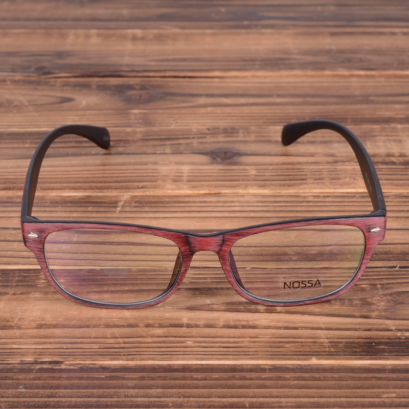 NOSSA Unique Design Vintage Glasses Frame Fashion Women Men's Optical Frame Retro Spectacle Prescription Eye Glasses Frame