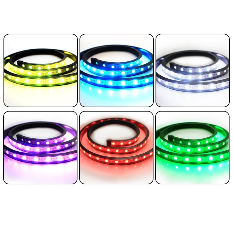1M USB LED Strip İşıq piksel 5V SMD5050 w282812 60leds 60IC IP67 - LED işıqlandırma - Fotoqrafiya 2