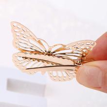 8PCS Golden Butterfly Hair Clips