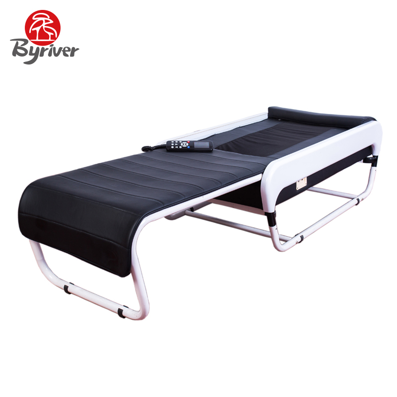 BYRIVER Factory Wholesale 2017 Korea 3D Automatic Slide Folding V3 Jade Stone Relaxation Thermal Massage Bed Table Massager аксессуар защитная пленка alcatel onetouch 4033d media gadget uc premium прозрачная mg797