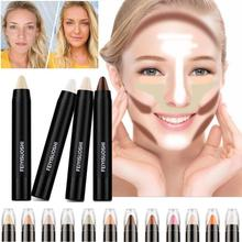4Pcs/set Concealer Pen Pencil Stick Makeup Hide Blemish Dark Circle Face Eye Foundation Cover Concealer Cream Y1-5
