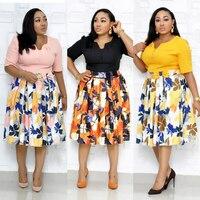 ankara african dresses for women bazin riche robe africaine femme 2019 dashiki african clothes african print dress festa