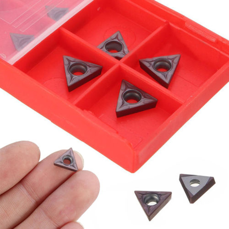 10Pcs TCMT 731 Carbide Insert C6 Grade For 1//4 /& 5//16/'/' Turning Tools 2mm 10mm