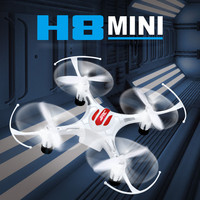 JJRC H8 Mini Weiß Drohne Headless Modus 6 Achsen-gyro Quadcopter mit 360 Grad Rollover Funktion One Key Rückkehr RTF Copter