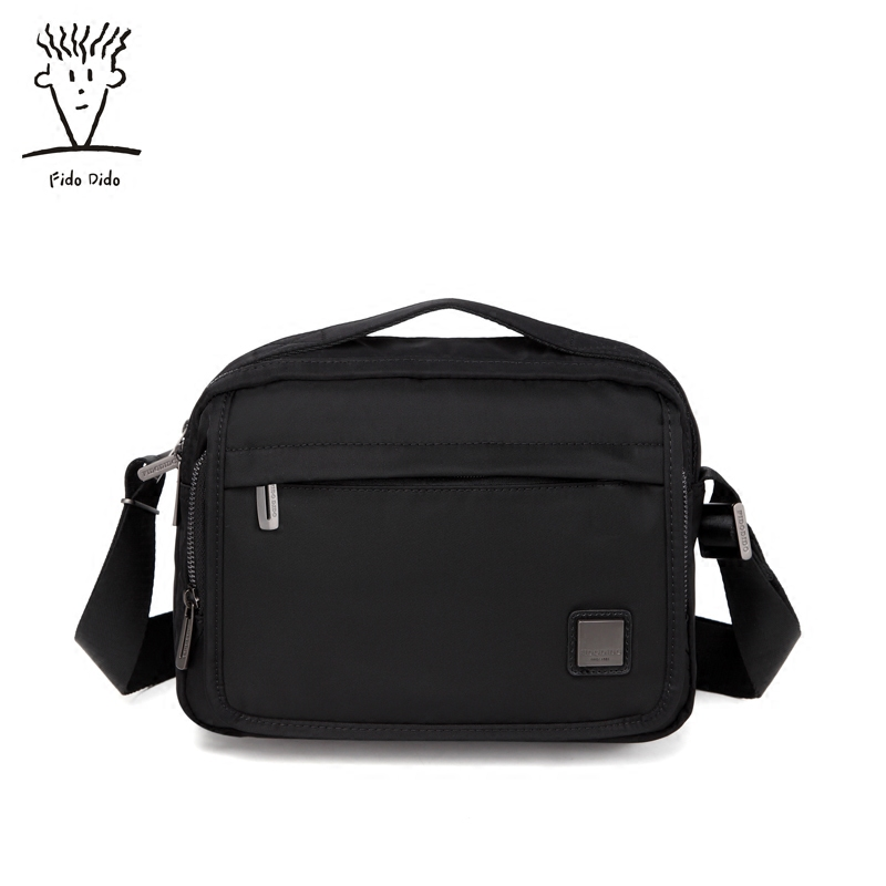 Fido Dido Men Bag Mens Shoulder Bags High Quality Oxford Casual Crossbody!! fido