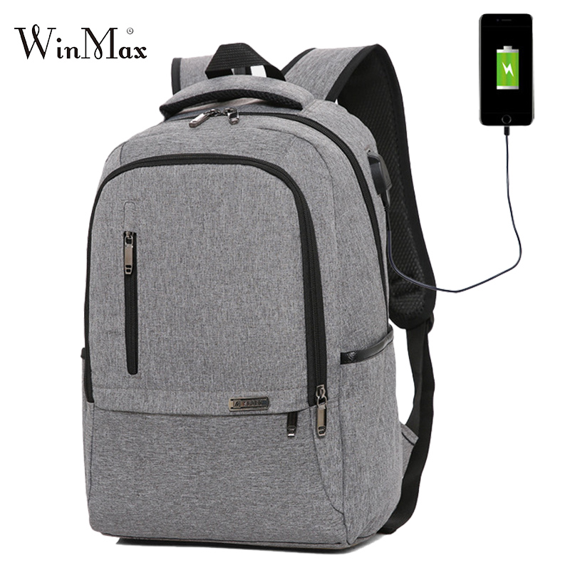 Multifunction Backpack For Men USB Laptop Backpacks Large Male Business Travel Bag Student School Bags For Teenager Boys Mochila