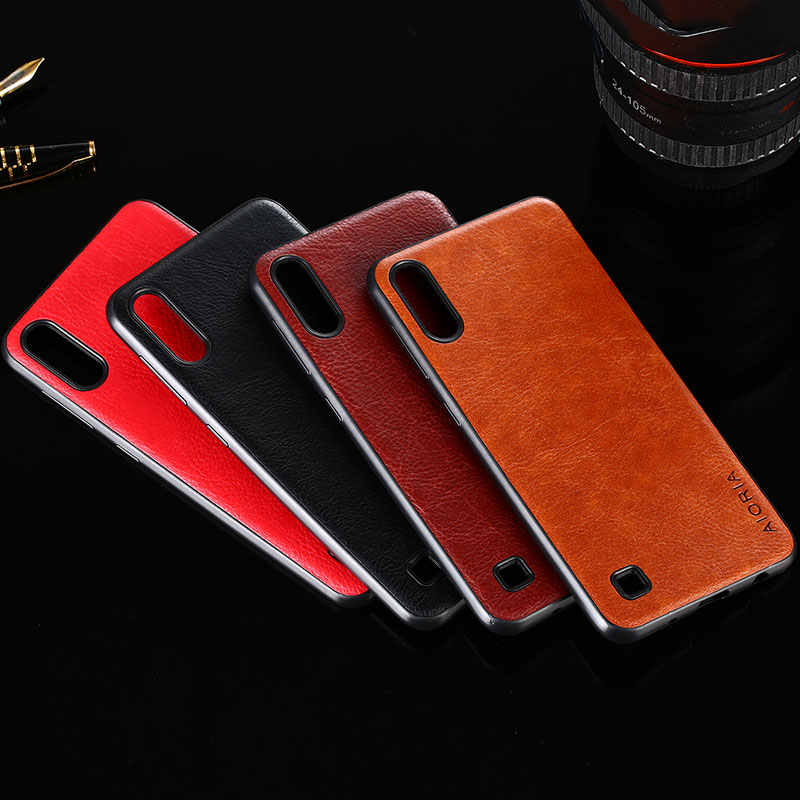 case for samsung galaxy a10 a30 a50 coque luxury Vintage Leather skin capa Slot cover for samsung a10 a30 a50 case funda capa