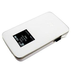 Image 4 - KuWfi débloqué 4G routeur sans fil poche LTE WiFi Modem 4100 mAh batterie externe routeur de voyage en plein air avec fente pour carte Sim