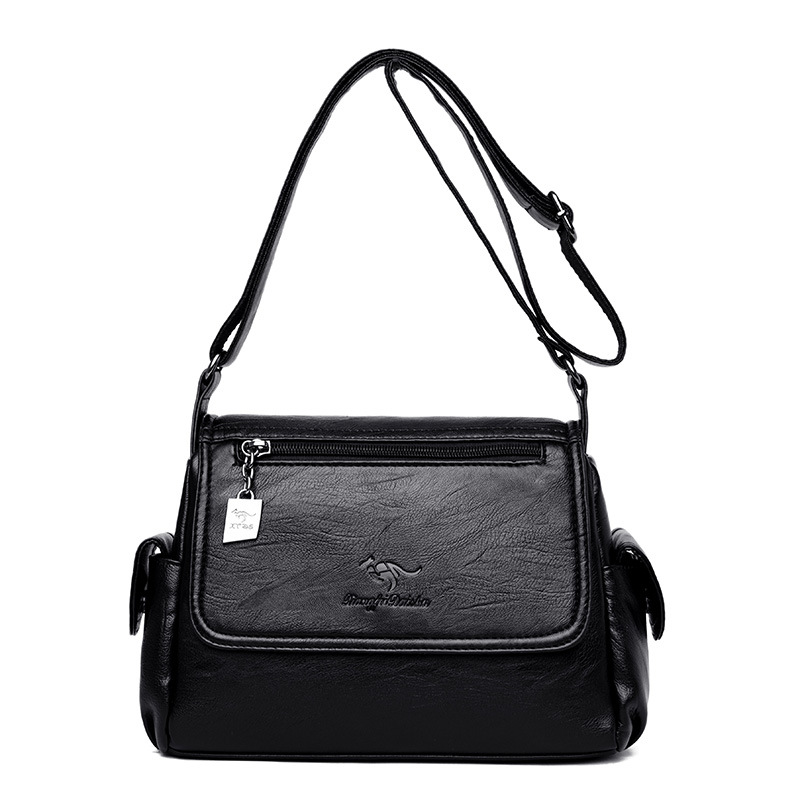 Women 39 s Crossbody Bag Small Shoulder Bags for Women 2019 Designer Casual Ladies Hand Bags Genuine Leather Sheepskin Female Flap in Shoulder Bags from Luggage amp Bags