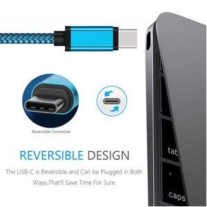 Image 2 - 3 ~ 10ft USB C Loại C 3.1 To USB 2.0 Một Truyền Dữ Liệu, Sạc Bện Cáp dành Cho Samsung S8 Note 8 Cho HUAWEI P9 V8 Rất Nhiều