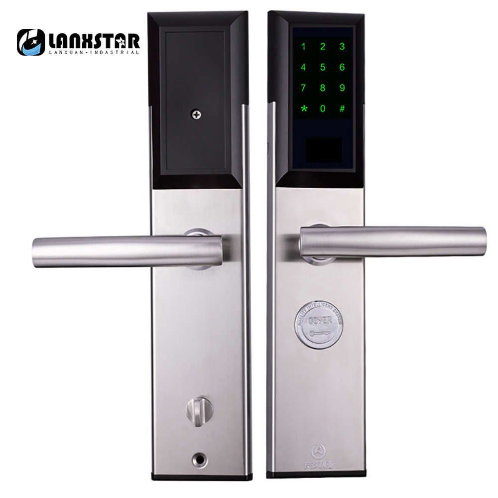 Mobile phone remote Bluetooth app unlock rental rental apartment short-term security door code lock office home smart lock