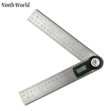Sale Ninth World 200mm Woodworking Angle Finder Gauge Meter Protractor Electronic Digital 360-Degree 2 in 1 Multifunction