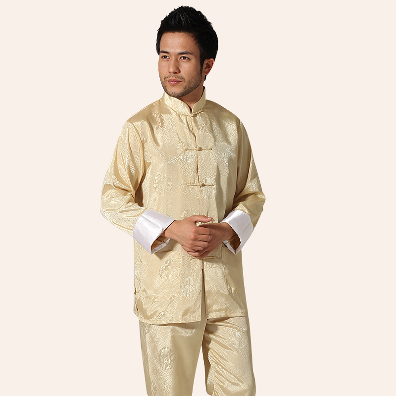 5 Colors Taiji Clothing With Opening Leg Cuff Kung Fu Uniform Martial Arts Tai Chi Suits Chinese Tang Dress Tai Chi Clothing