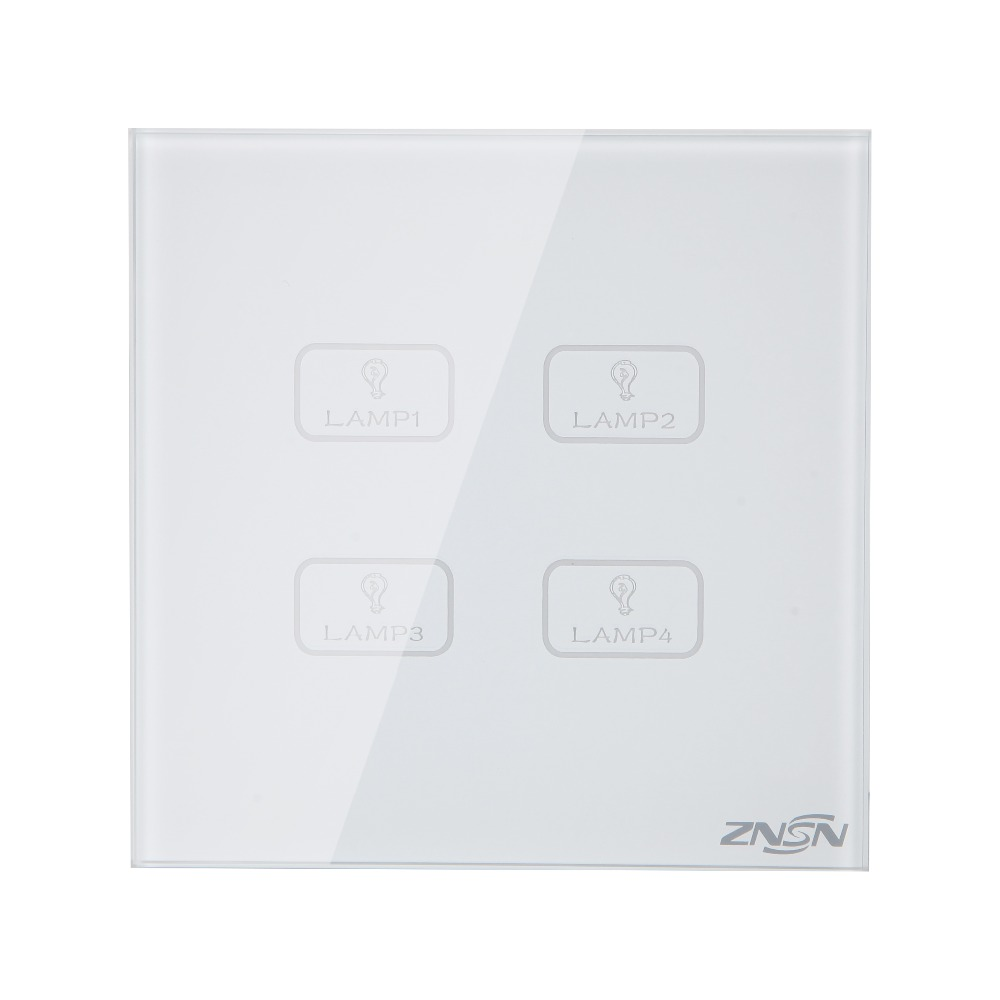 UK Standard Only Live Line White 4 Gang 1 Way 86x86x37mm Luxury Crystal Glass Panel Wall Touch Switch григорий лепс парус live