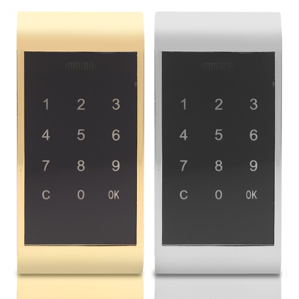 Drawer Combination Lock Touch Keypad Password Key Access Cabinet Door Lock Digital Electronic Security Coded For Locker