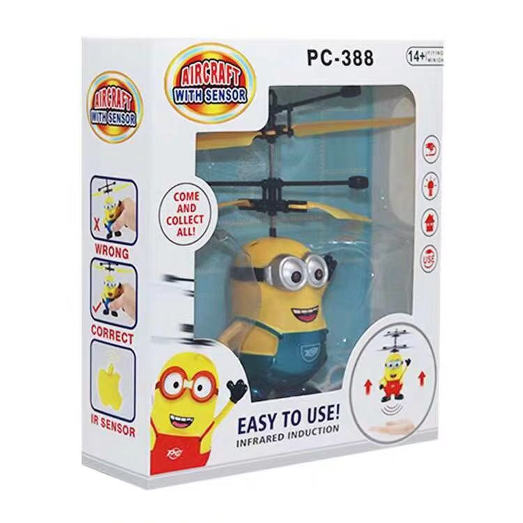 Mini RC Despicable Drone Minions Helicopter Quadcopter Drone Flying Sensory Toy For Kids