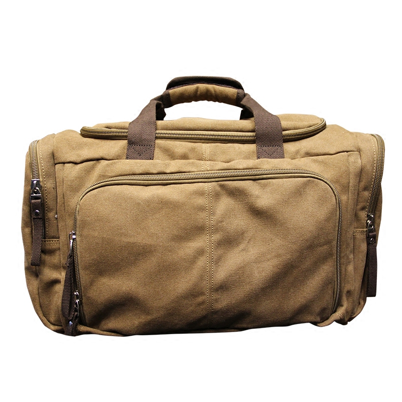 afb77316b16 Vintage Canvas Men Travel Bags Weekend Carry on Luggage   Bags Leisure  Duffle Bag Large Capacity Tote Business Bolso-in Travel Bags from Luggage    Bags on ...