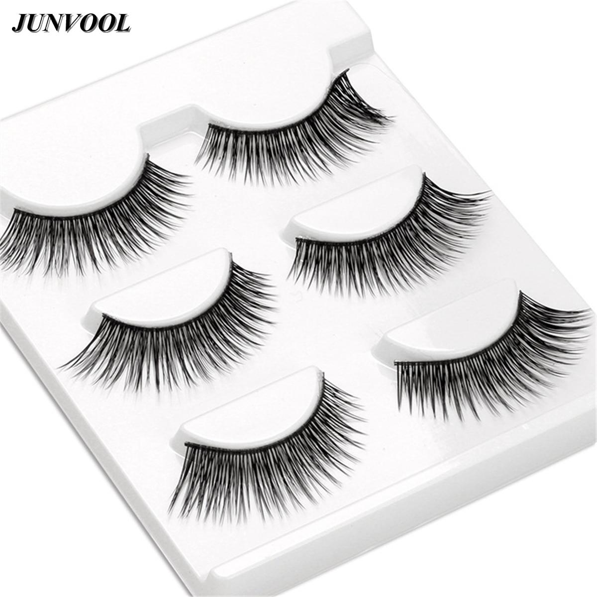 Beauty Thick Makeup False Eyelashes 15 Pairs Long Black Fake Eyelash Nautral Handmade Winged Eye Lashes Extension New Style
