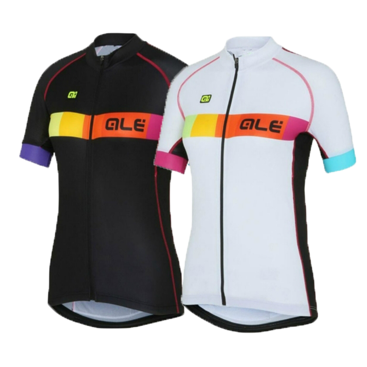 Ale Women 2017 Team Cycling Jersey + Bib Shorts Set Bike Clothes Suit Quick Dry Pro Maillot