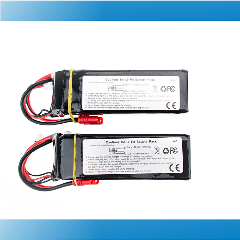 Walkera QR X350 PRO Lipo battery 11.1V 5200Mah 3S 15C 2pcs RC Drone Quadcopter parts 2017 набор цветного мелованного картона action love is ф а4 10 л 10 цв 8цв зол и сер 2 дизайна action