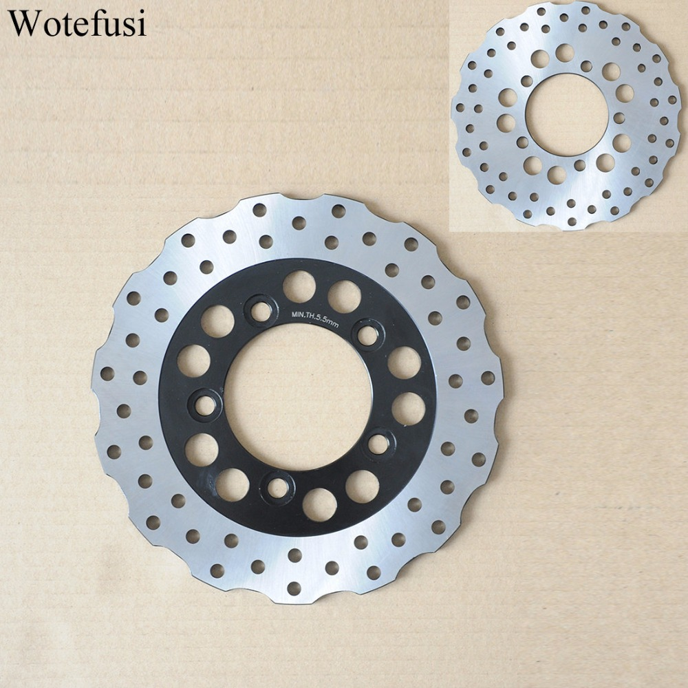 Wotefusi Rear Brake Disc For Kawasaki ZX R 750 1989-2003 ZX 9R ZX 900 B1-B4 1994 1997 1995 1996 [PA199] motorcycle front rear brake pads for kawasaki gpx 600 r zx600 1988 1996 gpx 750 r zx750 1987 1989 zr750 1991 1995 zx100 zx10 p04