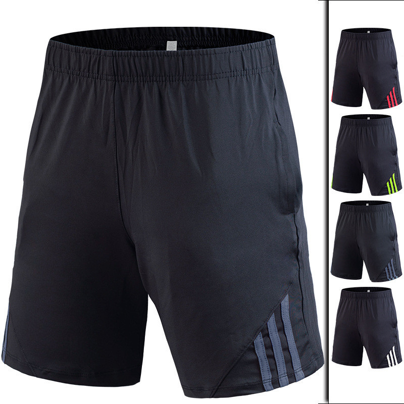 Men's Running Shorts Quick Drying Breathable Active Training Exercise Jogging Large Size Gym Men Sports Shorts With Pocket