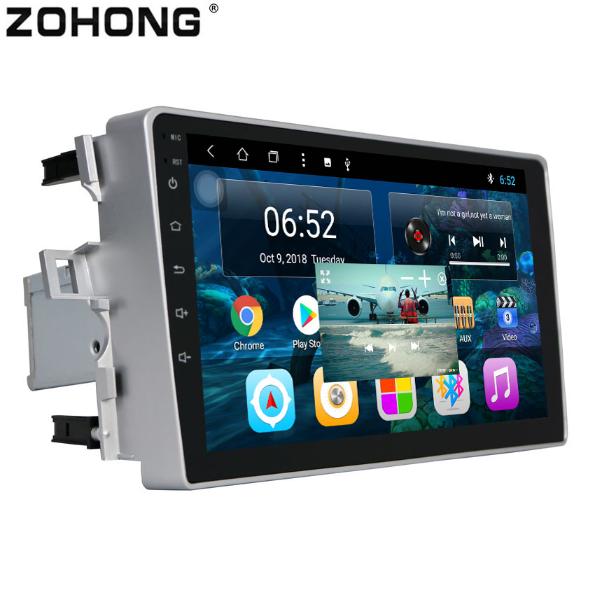 2 5D 9 inch Octa 8 Core PIP Split Screen Android 8 1 Car GPS DVD