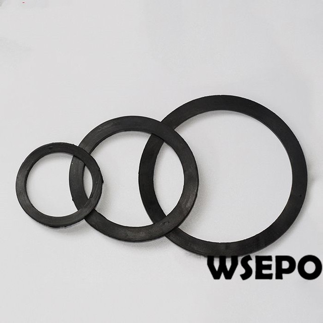 OEM Quality! Outlet Rubber Seal Round Gasket for 3 inch Gasoline or ...