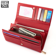 цена на Brand Designer Wallet Female PU Leather Wallet Top Quality Women Wallets Long Coin Purse Card Holders High Capacity Carteras NEW