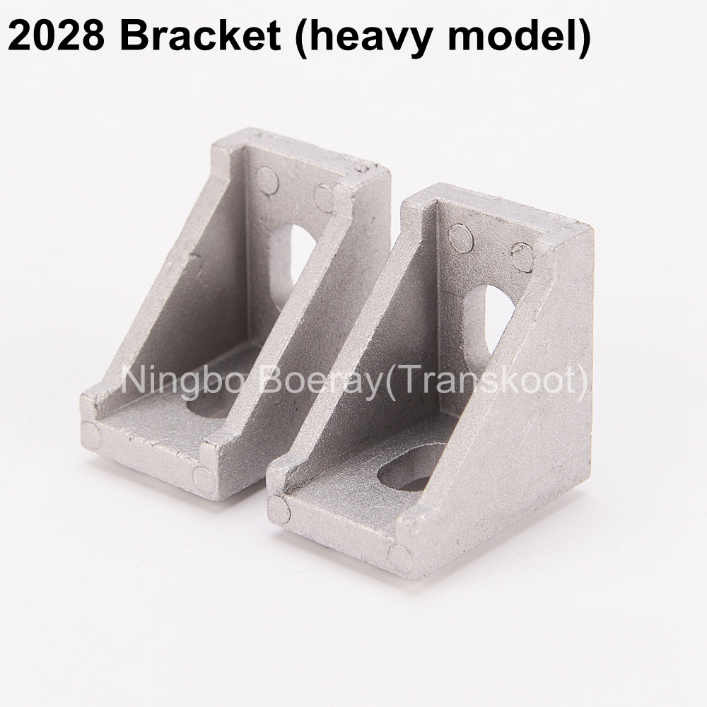 10pcs CNC DIY ACCESSORIES 2028 2020 Corner Angle L Brackets Connector Fasten Fitting Long Hole for Aluminum Profile 2020 20x20 e cap aluminum 16v 22 2200uf electrolytic capacitors pack for diy project white 9 x 10 pcs