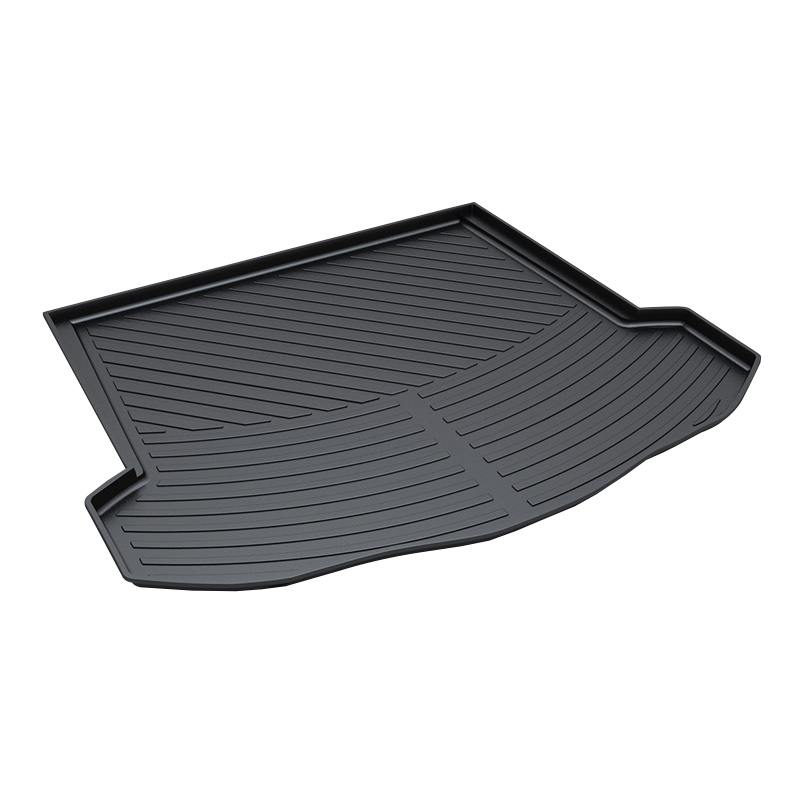 3D Trunk Mat for Ford Mondeo 2013 Waterproof Anti-Slip Car Trunk Tray Mat Protector Cover trunk tray mat for toyota corolla premium waterproof anti slip car in heavy duty black