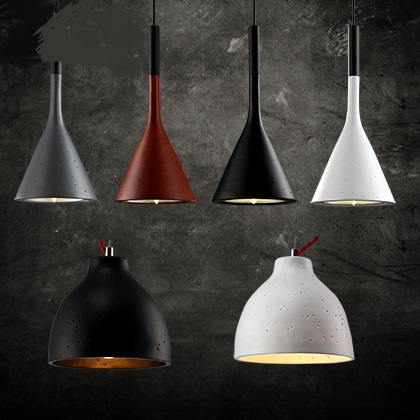 European creative imitation cement minimalist living room chandelier dining bedroom hallway American country antique lamp  ZCL led creative personality chandelier modern minimalist dining room bedroom lamp romantic living room lamp