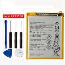 цена на Original HB366481ECW Li-ion phone battery For Huawei P9 Ascend P9 Lite honor 5C G9 EVA-L09 honor 8 lite G9 honor 8 2900m