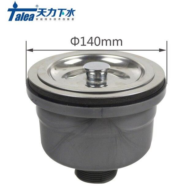 Talea 140mm Stainless Steelsink Straine Kitchen Sink Strainer Basket Filter For Waster Drain Prevent