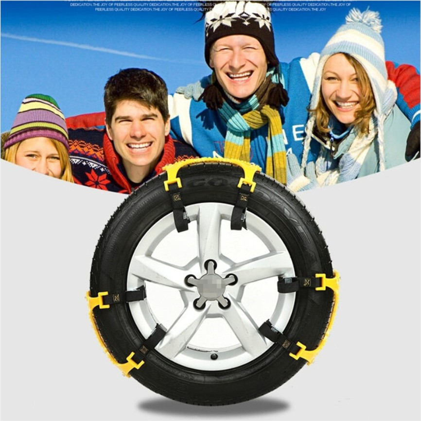 3x TPU Snow Chains Universal Car Suit 165 265mm Tyre Winter Roadway Safety Tire Chains Snow Climbing Mud Ground Anti Slip-in Snow Chains from Automobiles & Motorcycles    2