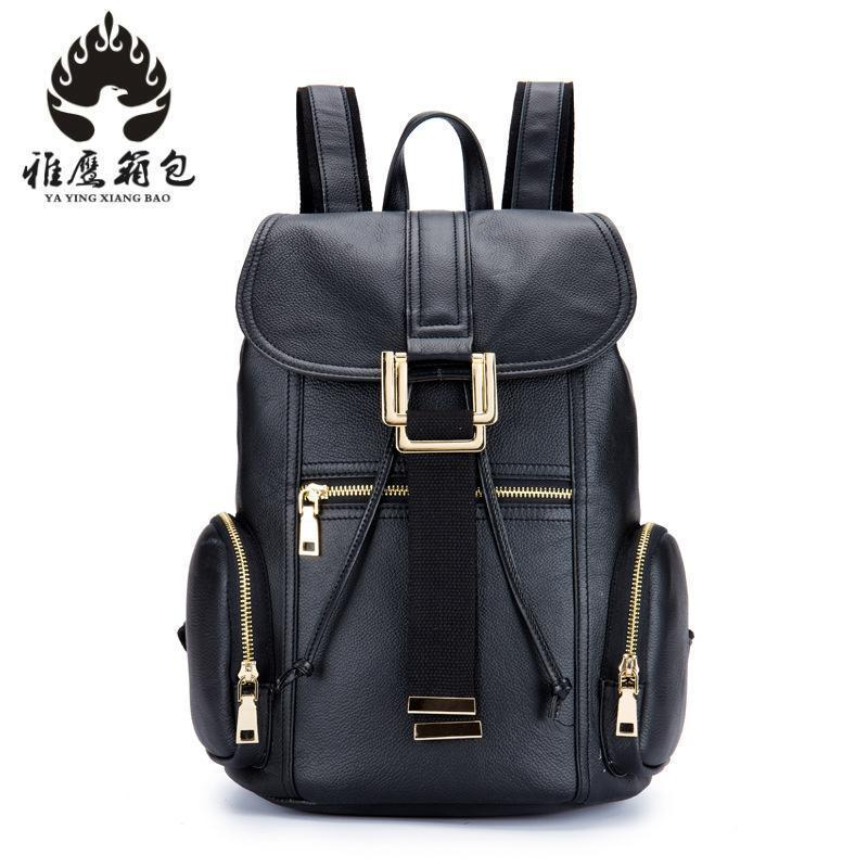 цена на Brand High Quality Cow Split Leather Women Backpack Vintage Backpack For Teenage Girls Casual Bags Female Shoulder Bags