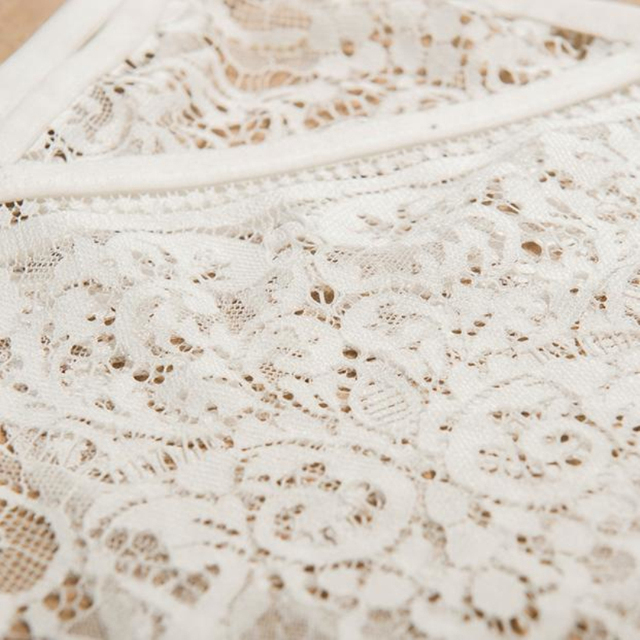 New Summer Sexy Women Hollow Translucent Underwear Sheer Lace Frenum Strap Lingerie Bra Top Bralette Amazing