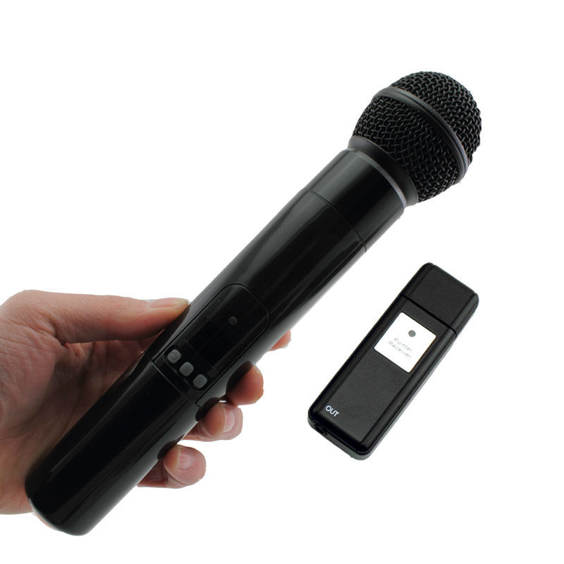 oxlasers high quality 2 4g usb wireless dynamic microphone for conference teacher and speech. Black Bedroom Furniture Sets. Home Design Ideas