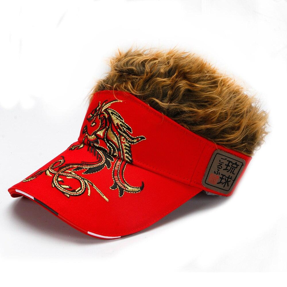 Gorra de golf para hombre Dragón Falso Sombrero para el cabello, - Ropa deportiva y accesorios - foto 6