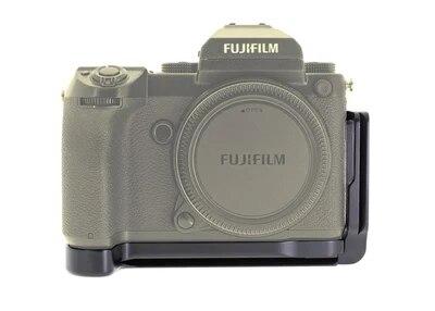 Quick Release L Plaque/L Support pour Fuji Fujifilm GFX 50 s Vertical Tirez Quick Release Plate Main Grip titulaire Arca Swiss RRS