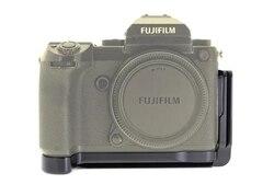Quick Release L Plate / L Bracket for Fuji Fujifilm GFX 50S Vertical Shoot Quick Release Plate Hand Grip Holder Arca Swiss RRS