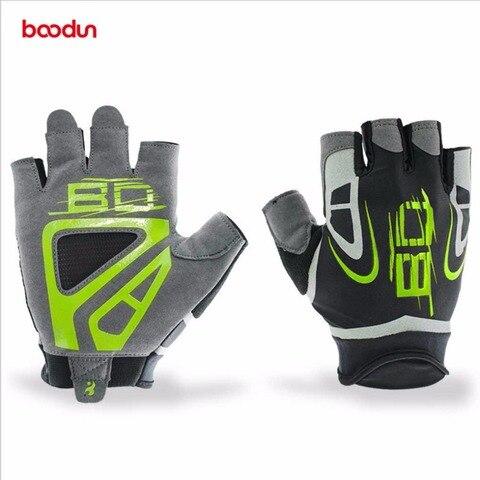 Luvas de Fitness Luvas de Levantamento de Peso Luvas de Treinamento Par de Construção do Corpo Boodun Ginásio Esporte Exercício Treino Luva Antiderrapante 1