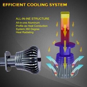 Image 4 - Ampoules anti brouillard de voiture, Flash LED stroboscopique, 12V H1 H11 H8 H7 H3 9005 9006 HB3 HB4 880 881, LED COB, blanc, jaune, bleu, 2 pièces