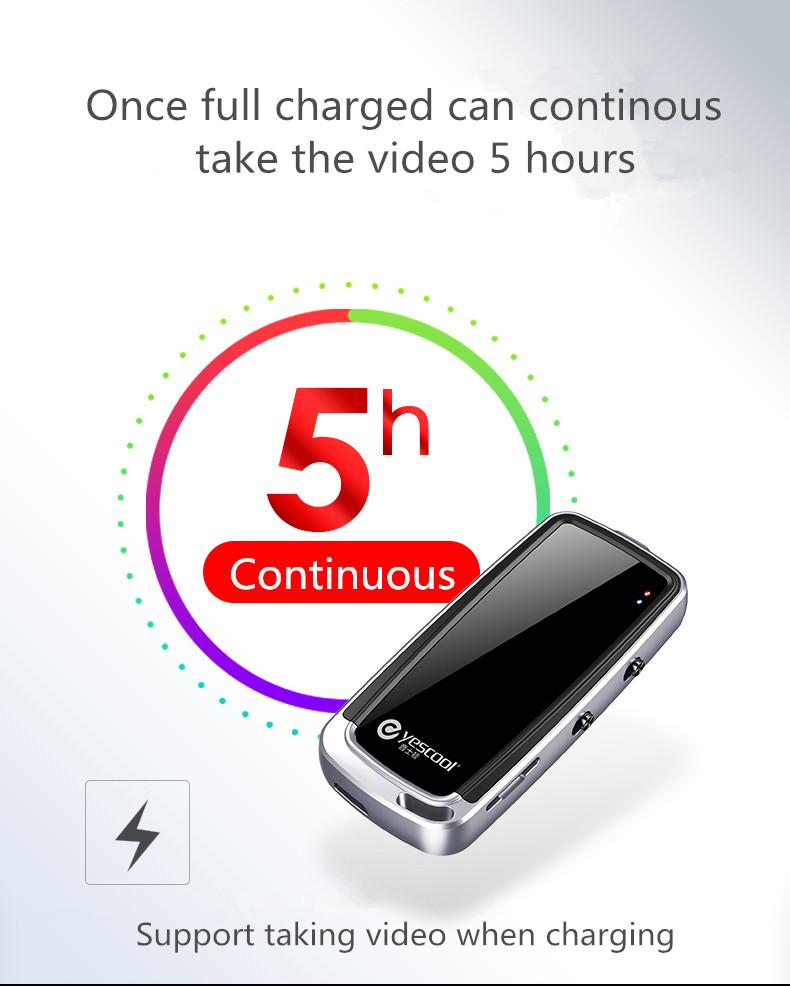 Yescool A30 mini cámara profesional HD 7