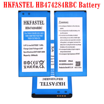 f252fa8cbcc HKFASTEL HB474284RBC batería para Huawei Honor 3C Lite C8816 C8816D G521  G615 G601 G620 Y635 Y523 Y625 Y625-U32 Y625-U51