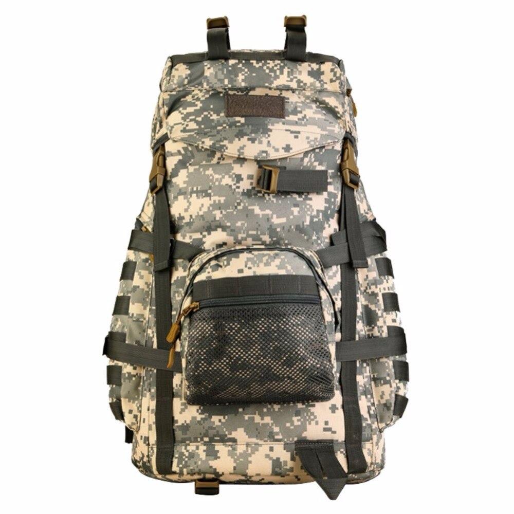 55L Large Waterproof Bag Rucksack Sport Outdoor Gear Hunting Camping Trekking Bag font b Tactical b