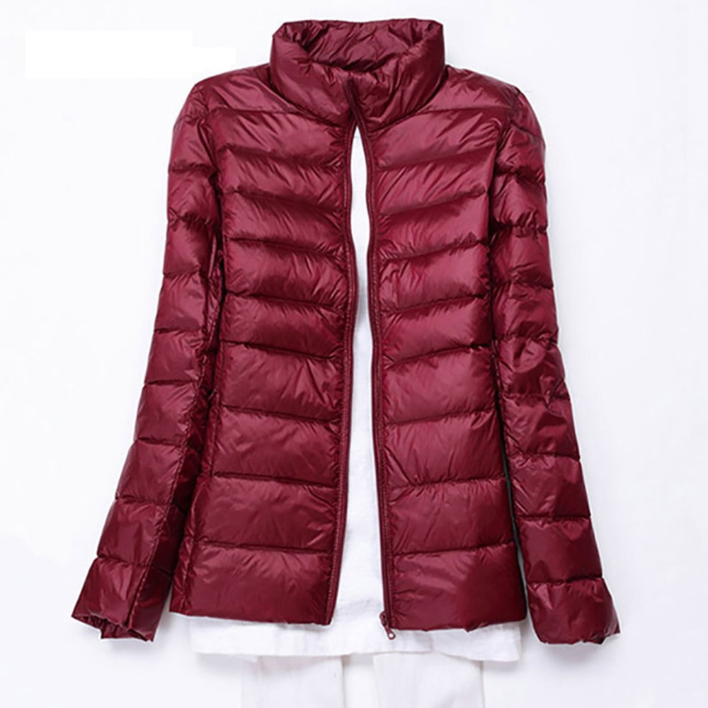 Plus Size 5XL 6XL 7XL Winter Warm Jackets Women Autumn Outwear Brand White Duck Down Coat Long Sleeve Slim Female Portabl Jacket