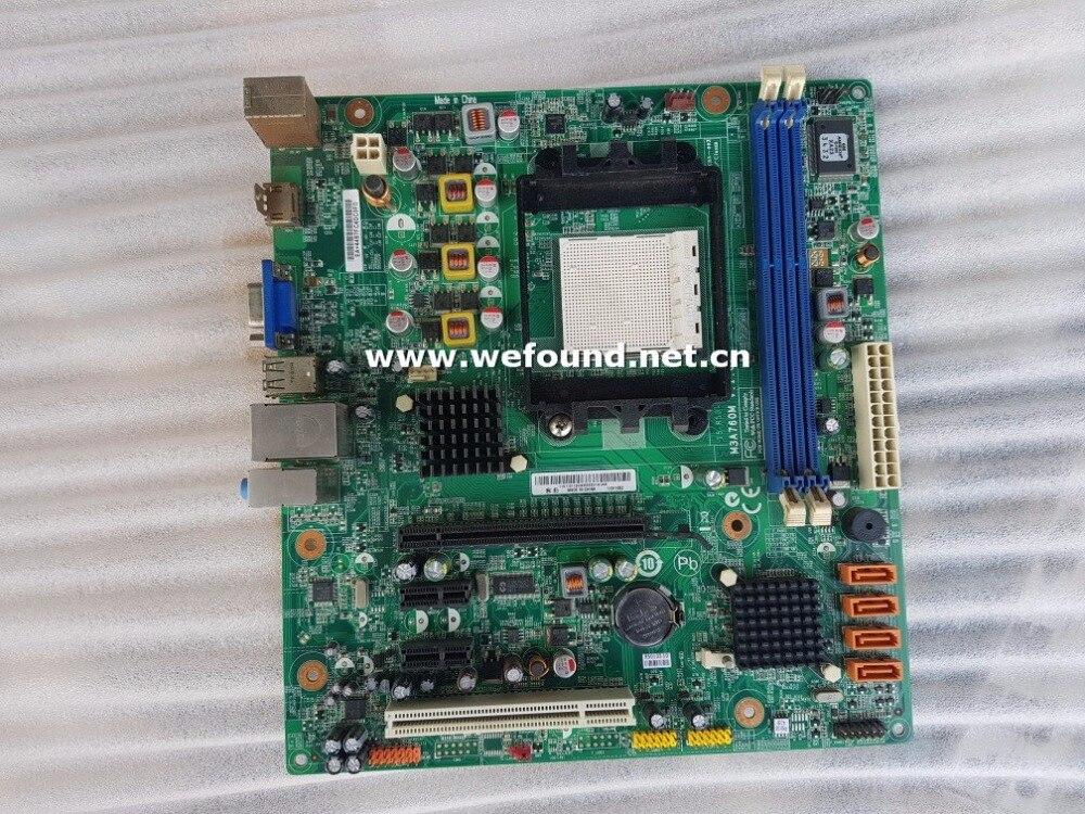 100% travail carte mère de bureau pour M3A760M V: 1.01 AM3 DDR3 carte mère entièrement testé