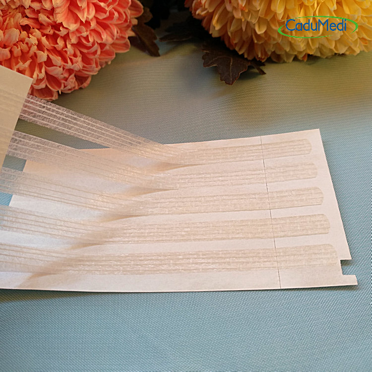 1pcs 6mm*100mm Cut Eyebrows Free Seam Tape Caesarean Section Postpartum Beauty Adhesive Tape Surgical Wound Reduction Tension B